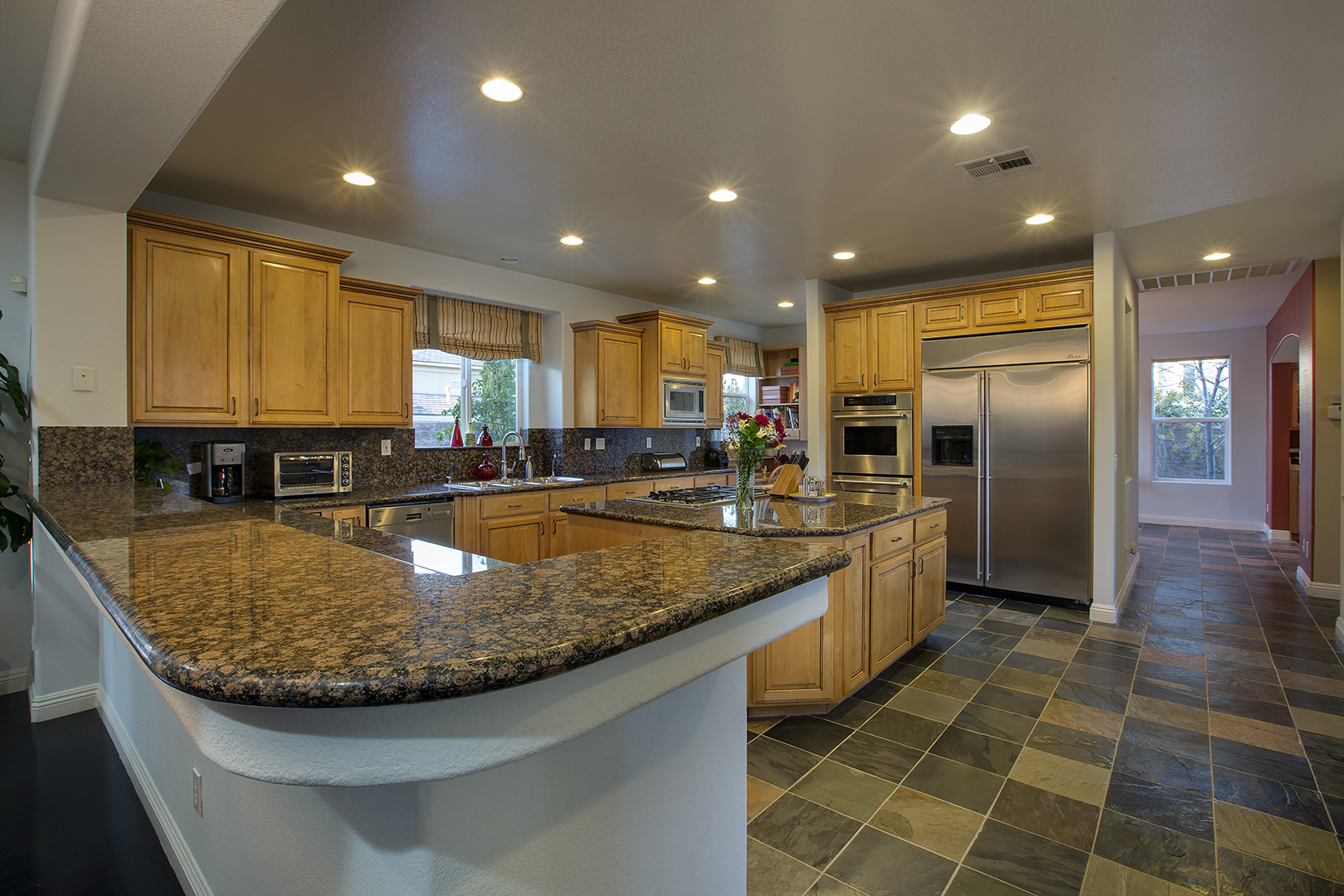 kitchen flooring material 1704 authentic ct henderson nv 89012 luxury homes of 1704